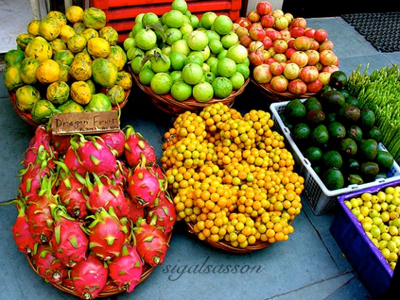 fresh fruits and vegetables in nepal