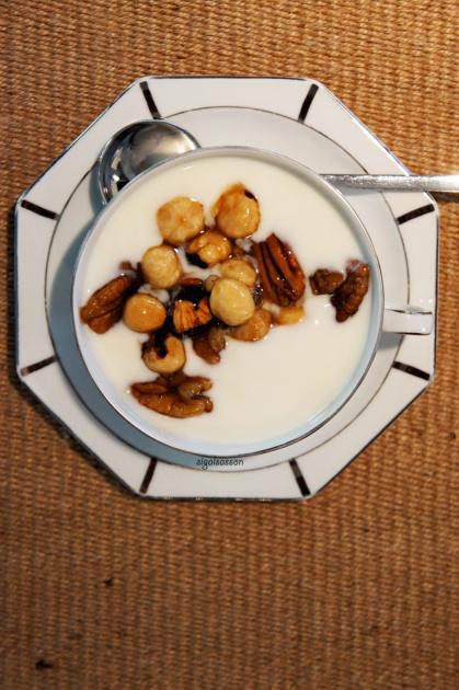 heaven yogurt for breakfast