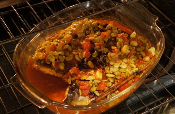 mediterrenean baked salmon