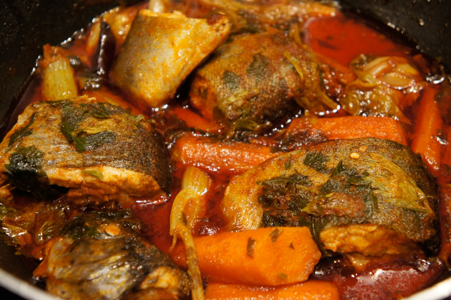 moroccan fish tagine