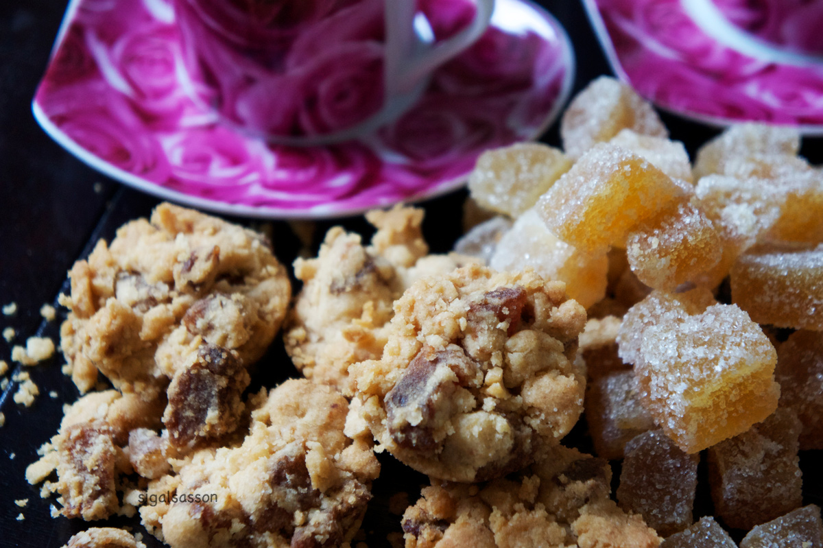 """candied ginger cookies crumble"""