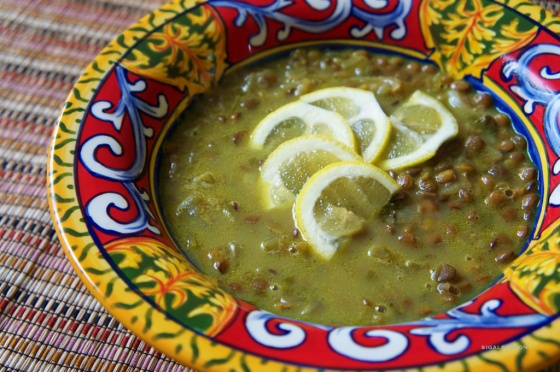the best vegan citruc lentil soup you will ever have