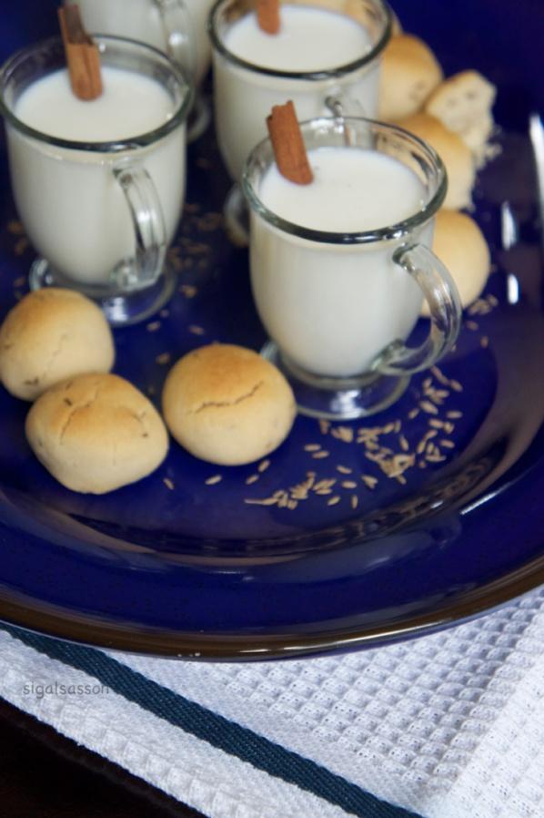delicious moroccan caraway cookies