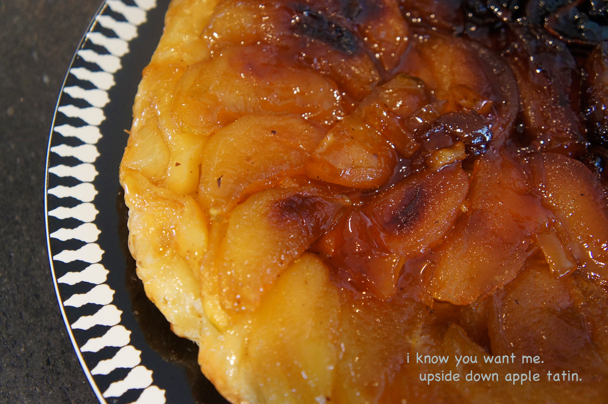 delicious upside down apple cake