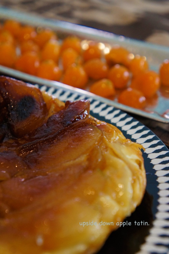 moist and delicious upside down apple tatin