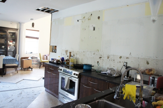 picture of kitchen renovation