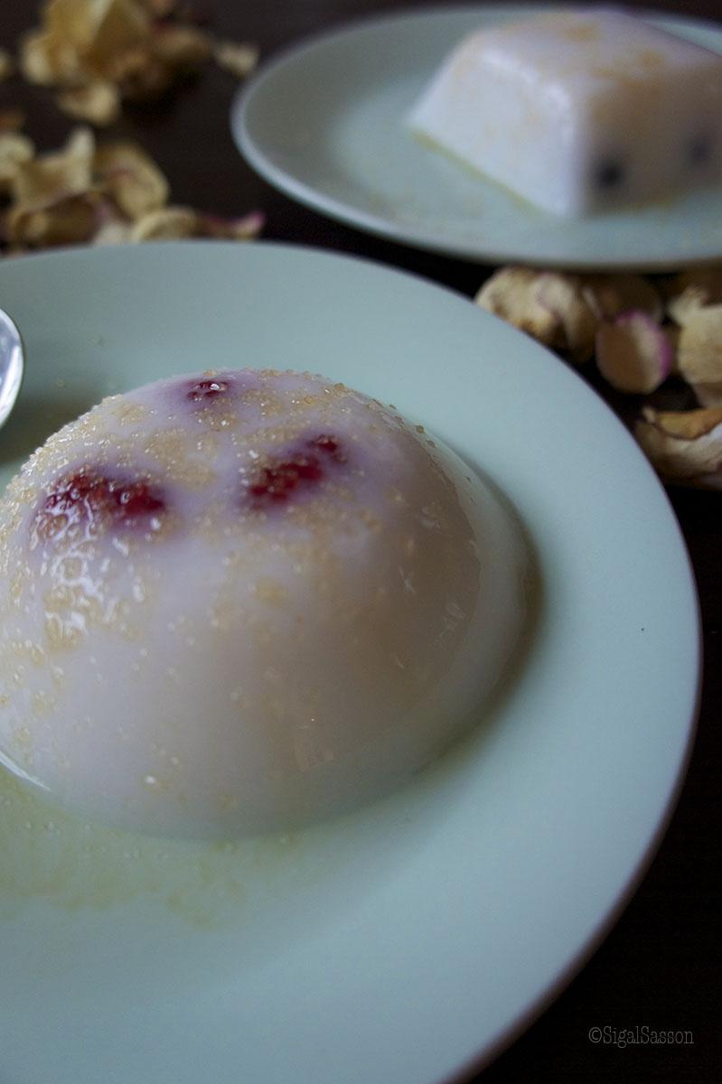 delicious malabi pudding dessert recipe