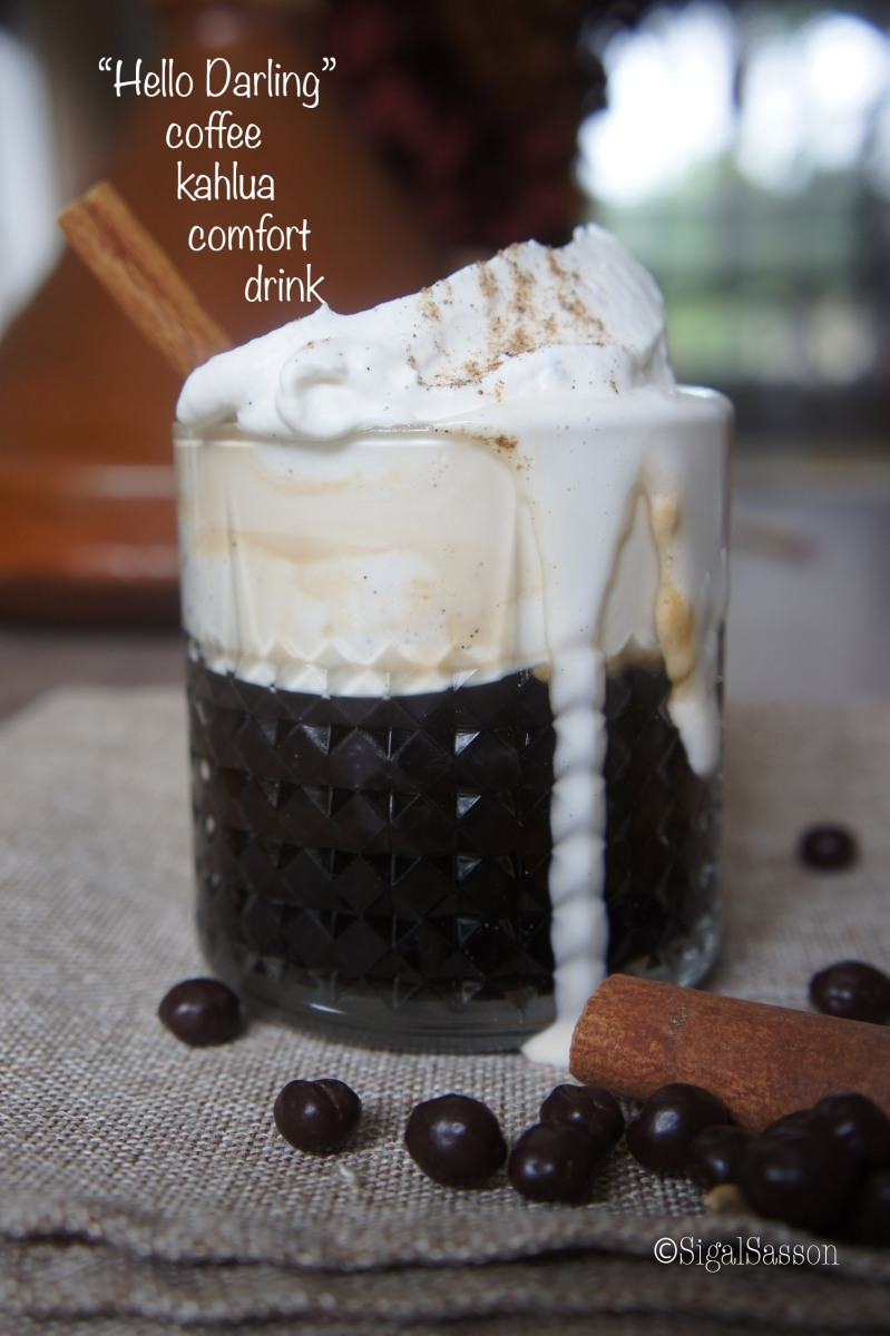 hello darling creamy kahlua coffee drink